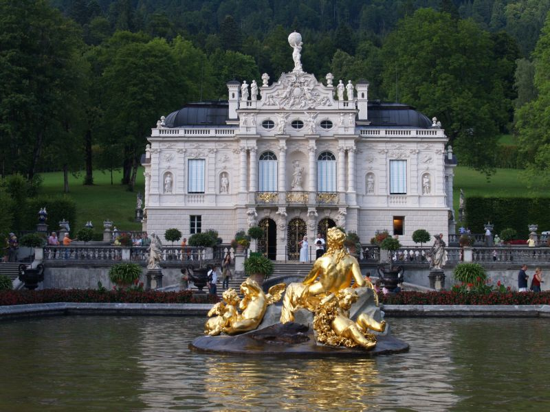 Schloss Linderhof Restaurant Hotel Standesamt 82488 Ettal