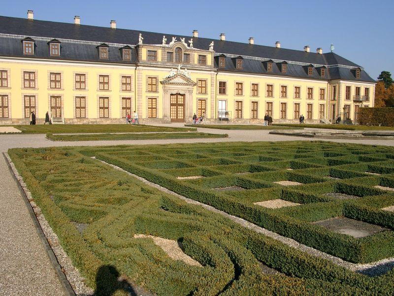 Herrenhäuser gärten fotos