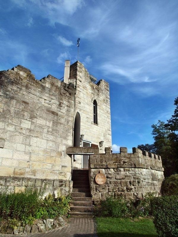 Burg frankenstein fotos